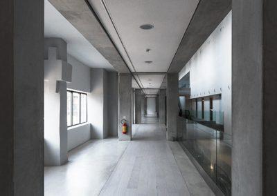 Corridor of the Ellenic Museum of Contemporary Art Athens
