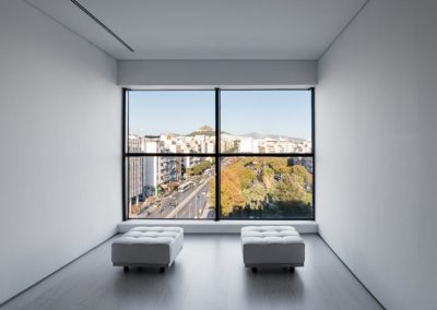Window View at the Ellenic Museum of Contemporary Art Athens