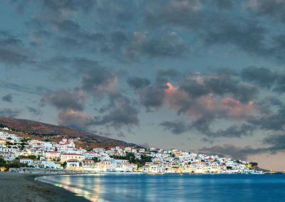 Batsi After a Thunderstorm Andros