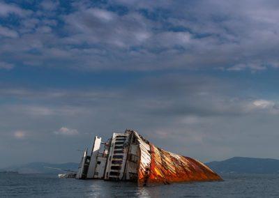 Mediterranean Sky Wreck Ship